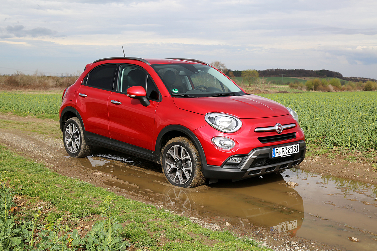 mini suv alternative fiat 500x 4 4 cross drivers club germany. Black Bedroom Furniture Sets. Home Design Ideas