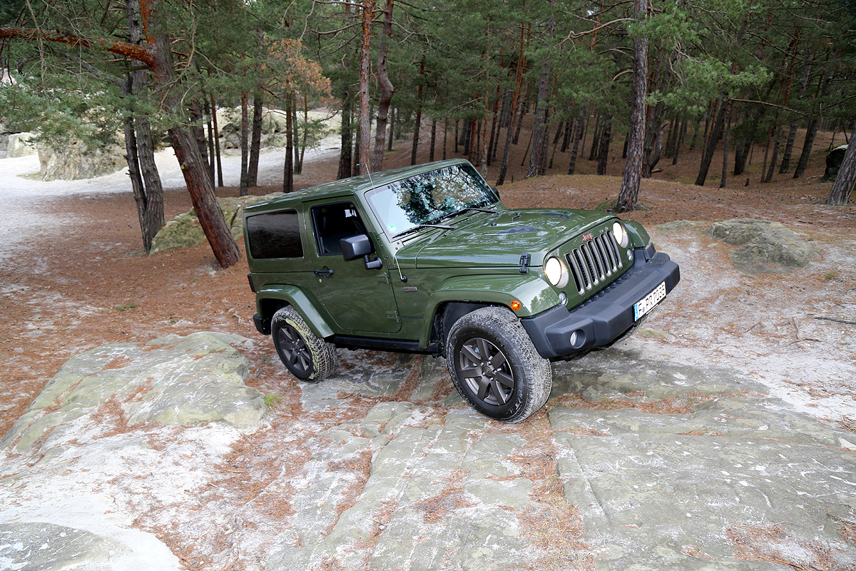 Das Original: Jeep Wrangler 75th Anniversary Edition – Drivers Club ...