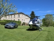 Mercedes-Benz S 63 Cabriolet Airbus Helicopter A145 Mercedes-Benz Style (2)
