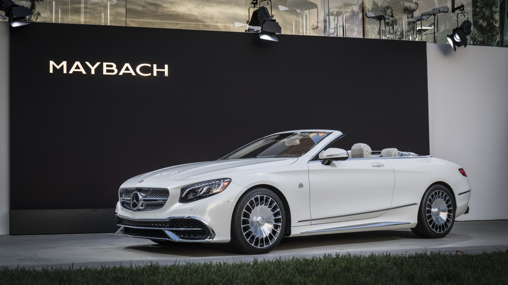 exclusive limited edition: mercedes-maybach s 650 cabriolet