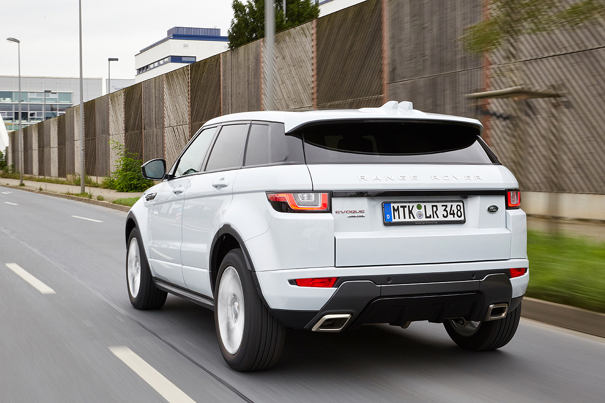 facelift range rover evoque im fahrbericht drivers club germany. Black Bedroom Furniture Sets. Home Design Ideas