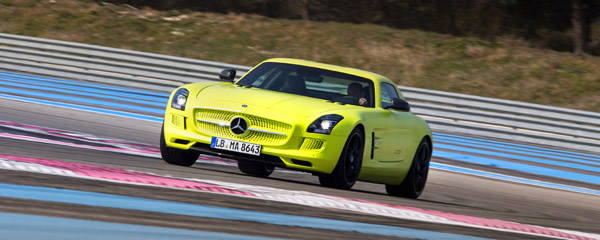 Mercedes-Benz SLS AMG Electric Drive Drivers Club Germany