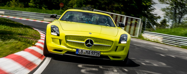 Mercedes-Benz SLS AMG Electric Drive Nordschleife Rekord Drivers Club Germany