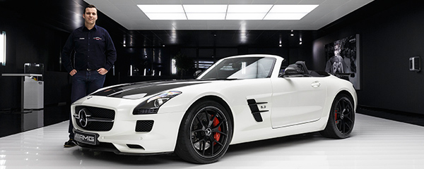Hinter den Kulissen von AMG SLS Final Edition Drivers Club Germany Christian Sauer