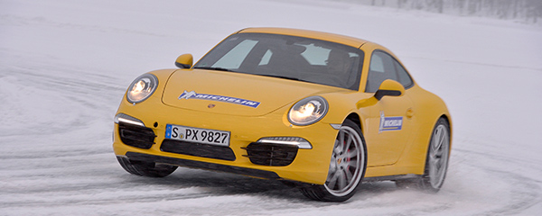 Michelin Winter Experience Drivers Club Germany Porsche 911 Carrera 4S