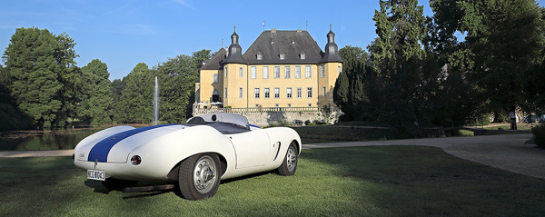 Classic Days Schloss Dyck Drivers Club Germany