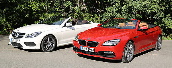 BMW 650i Cabrio vs. Mercedes-Benz E 500 Cabrio