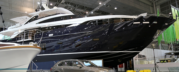 boot Düsseldorf 2016 Princess 30M