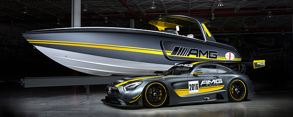 Cigarette Racing Team 41' SD GT3 Mercedes-AMG GT3