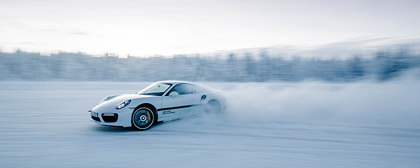 Porsche Driving Experience Ice Force 2016