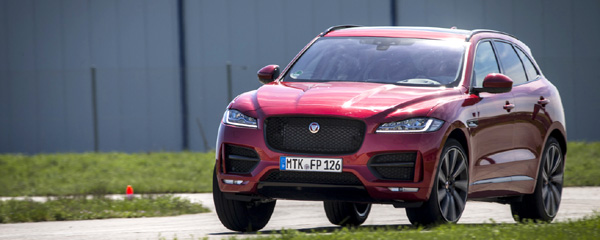 Jaguar F-PACE Drivers Club Germany Tracktest Mendig