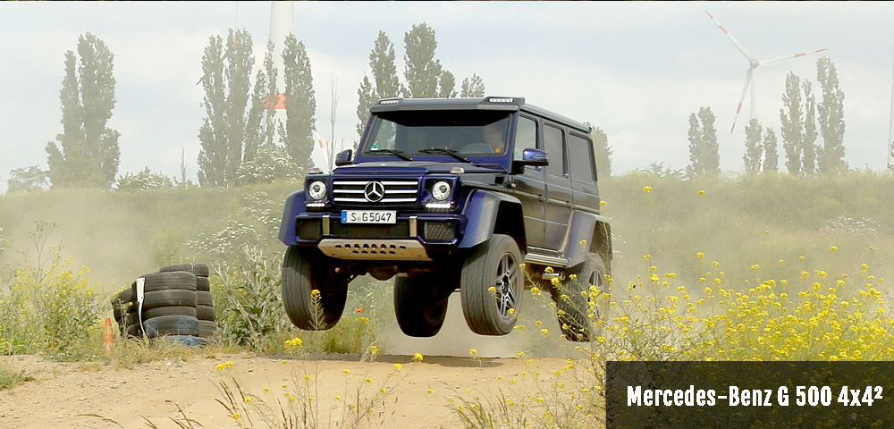 Mercedes-Benz G 500 4x4² Drivers Club Germany testdrive offroad
