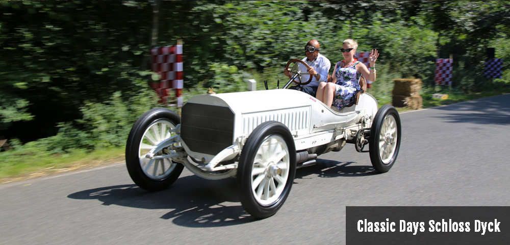 Classic Days Schloss Dyck 2016 Mercedes-Benz 120 Drivers Club Germany