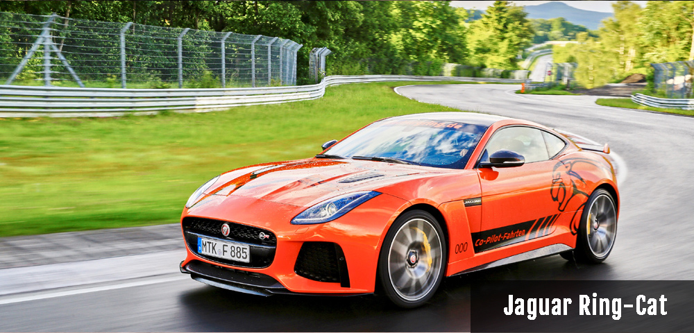 Jaguar F-TYPE SVR Ring Cat Nürburgring-Nordschleife Ringtaxi Drivers Club Germany