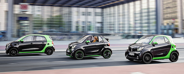 SMART Forfour Cabrio Fortwo Electric Drive
